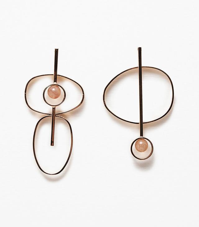 Zara Circular Earrings