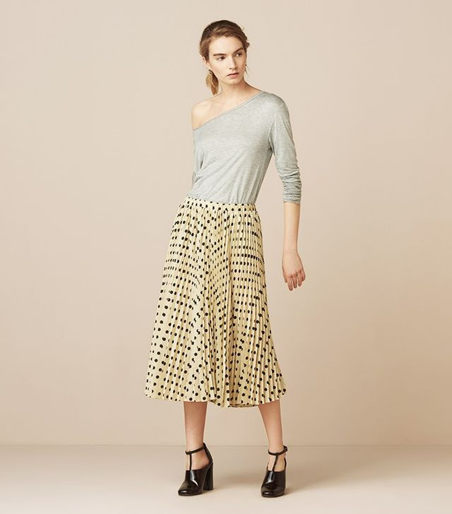 Finery London Goswell Pleated Skirt