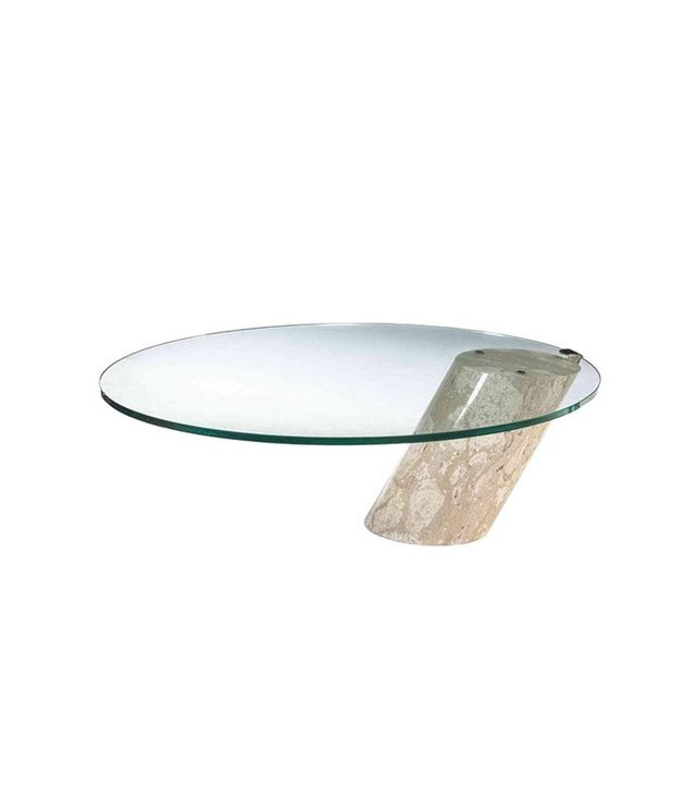 1stdibs Brueton-Style Glass and Marble Table