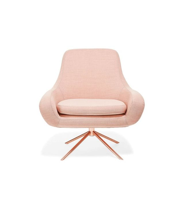 Softlife Apricot Swivel Chair