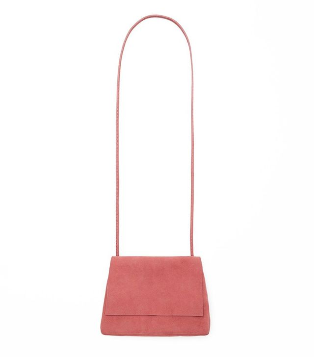 COS Soft Suede Shoulder Bag
