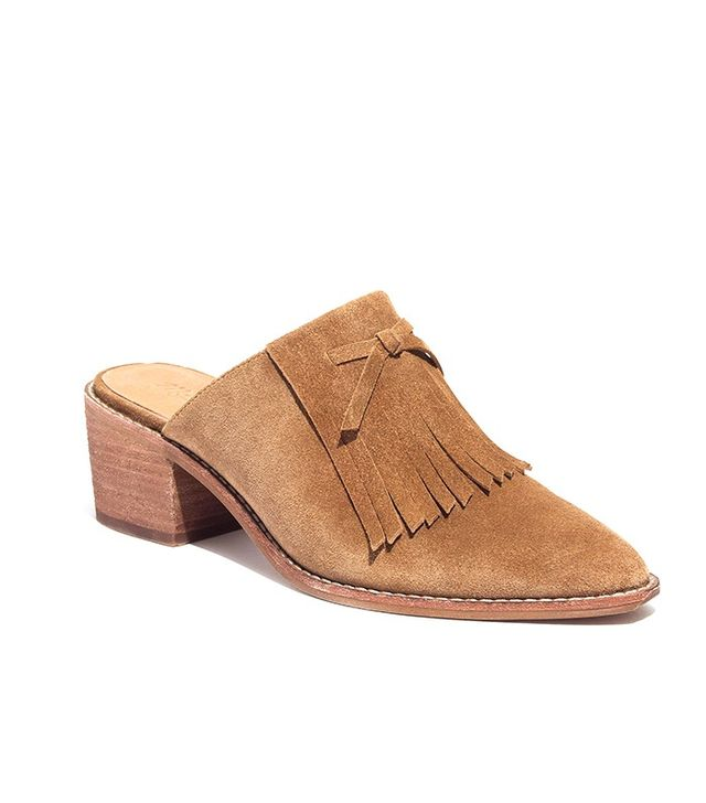 Madewell The Dani Fringed Mules