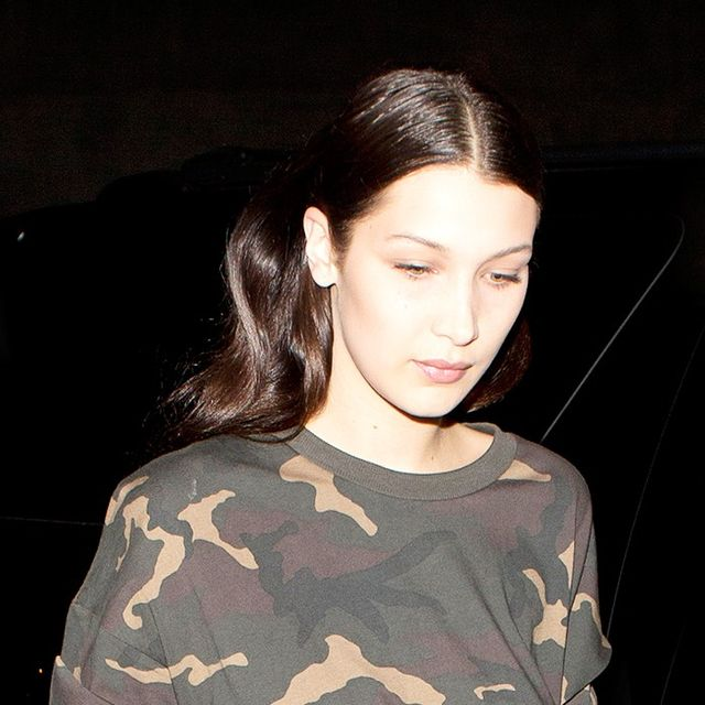 Bella Hadid Lampshades in a Yeezy Top (and It's Perfect)
