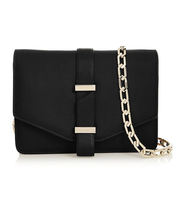 Victoria Beckham Textured Leather Mini Satchel