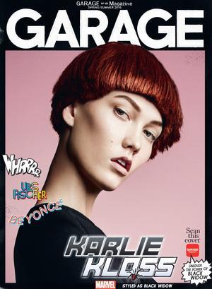 Garage Magazine and Marvel Transform Adriana Lima and Karlie Kloss Into Superheroes