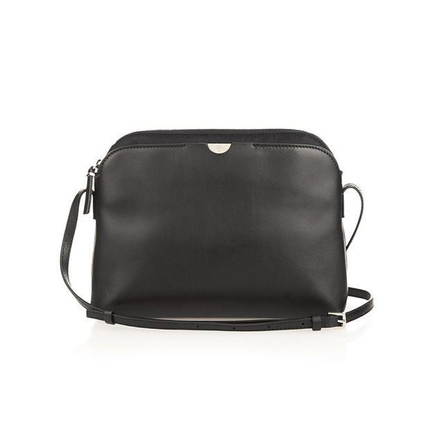 The Row Multi-Pouch Smooth Leather Bag