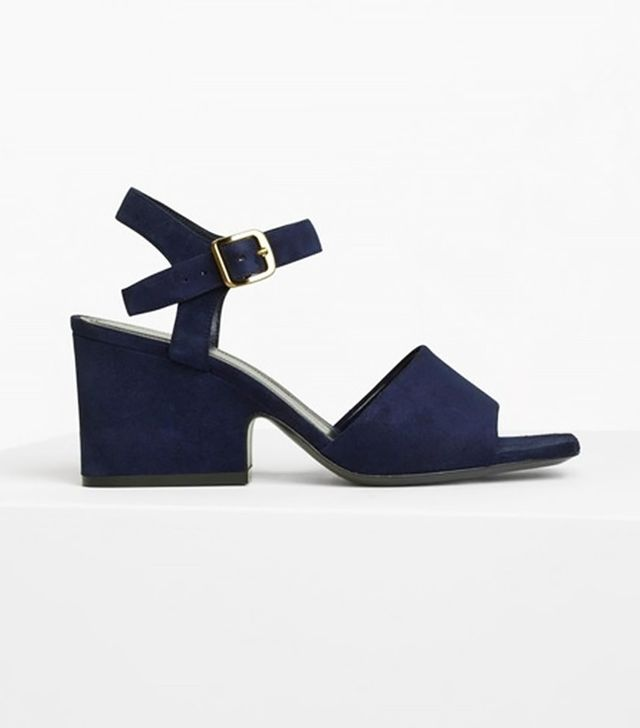 Céline Platform Mid Heel Sandals