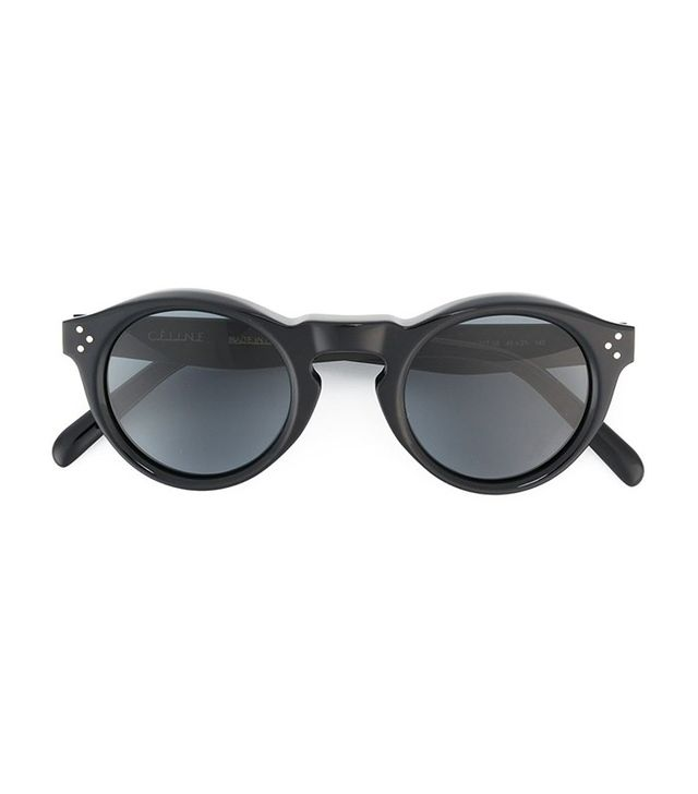 Céline Bevel Round Sunglasses