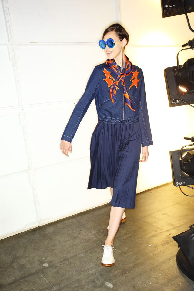 Who What Wear Australia: How long ago did you start prepping for thisNew York Fashion Week show? Karen Walker: We start designing the February show range in August, so it's a six or...
