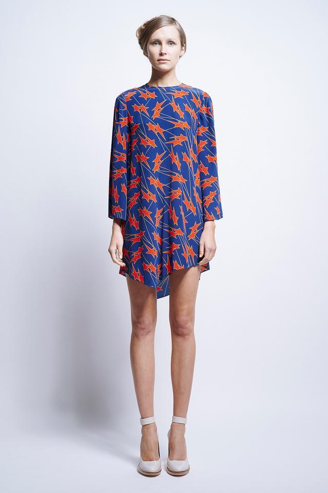 Karen Walker Kvant Asymmetric Dress