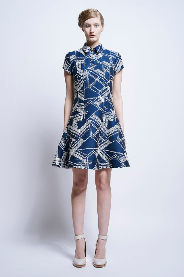 Karen Walker Stefanik Fitted Dress