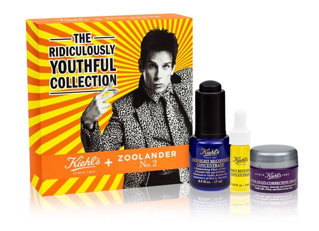 Derek Zoolander x Kiehl's The Ridiculously Youthful Collection