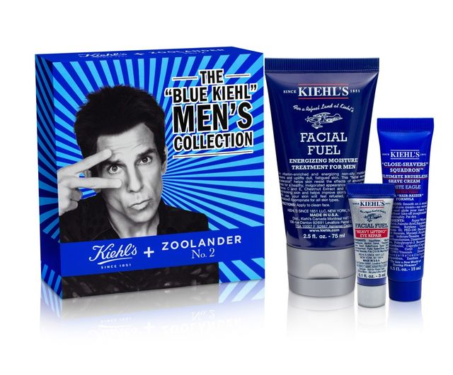 Derek Zoolander x Kiehl's The Blue Kiehl Men's Collection