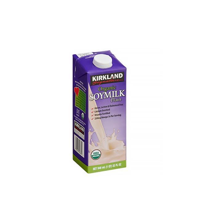 Kirkland Signature Organic Plain Soy Milk 12 Pack
