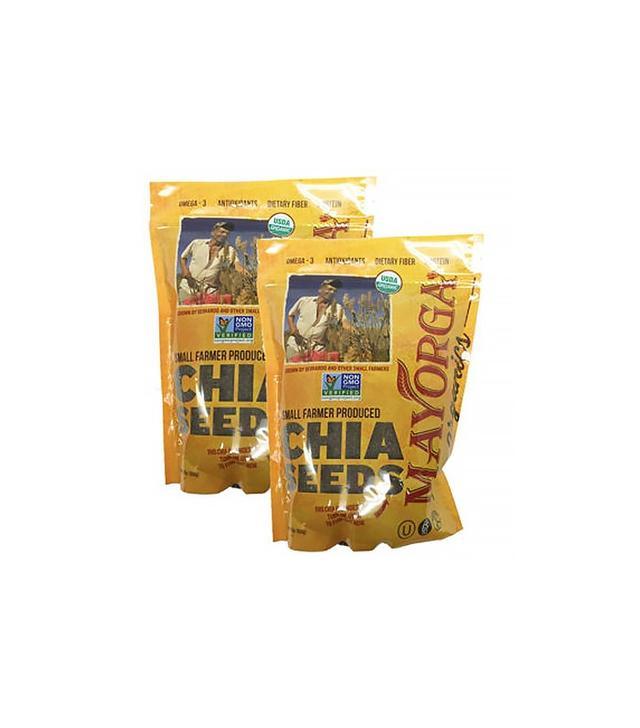 Mayorga USDA Certified Organic Chia Seed 2 Pack