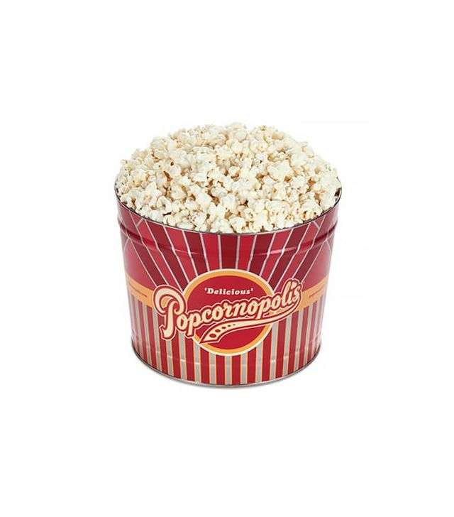 Popcornopolis Organic White Cheddar Gourmet Popcorn 2-Gallon Tin
