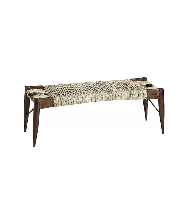 CB2 Large Wrap Bench