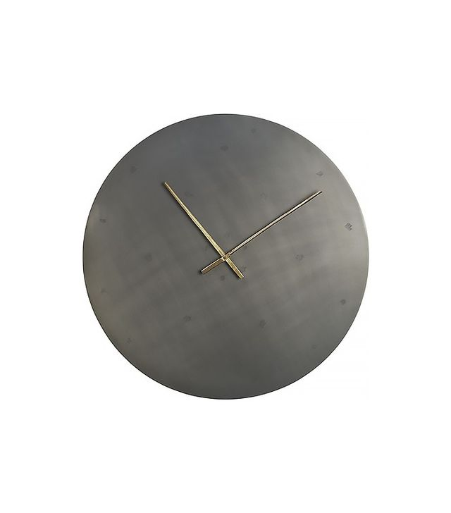 CB2 Iron Circle Wall Clock