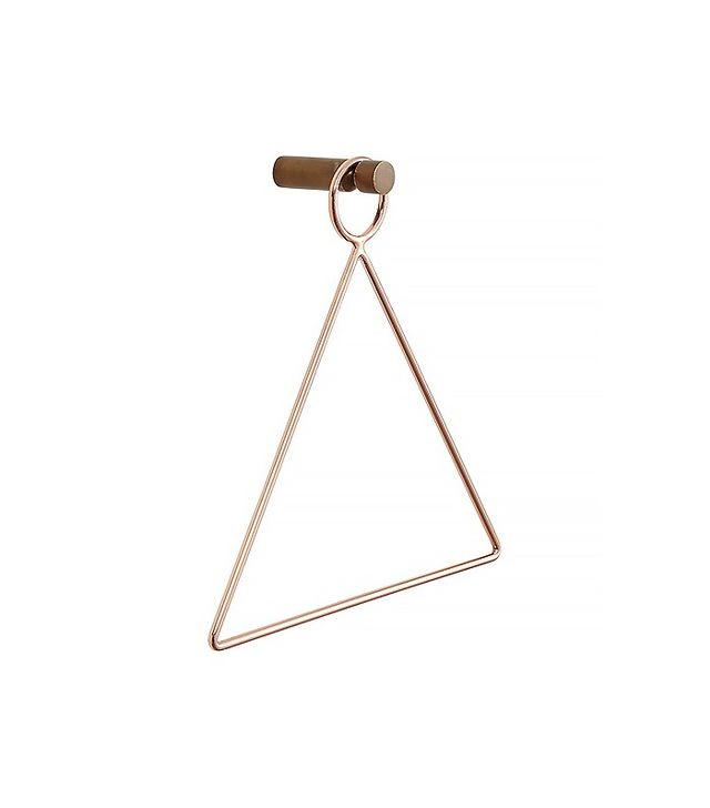 CB2 Copper Accessory Towel Holder