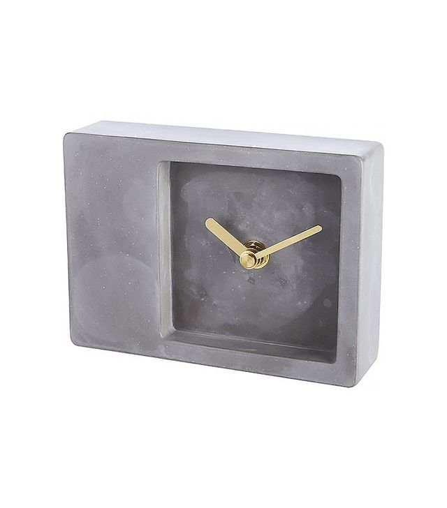 CB2 Around the Block Table Clock