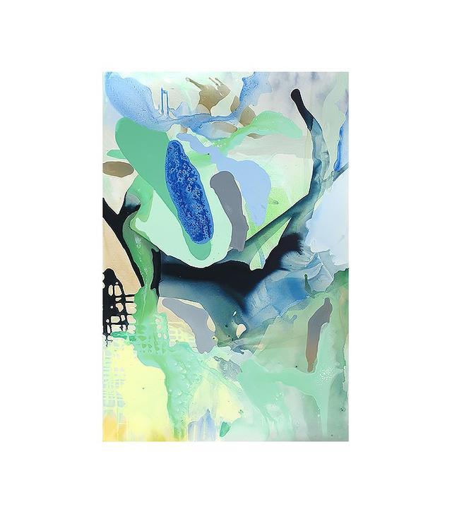 "Anne Harper ""Blue With Green"""