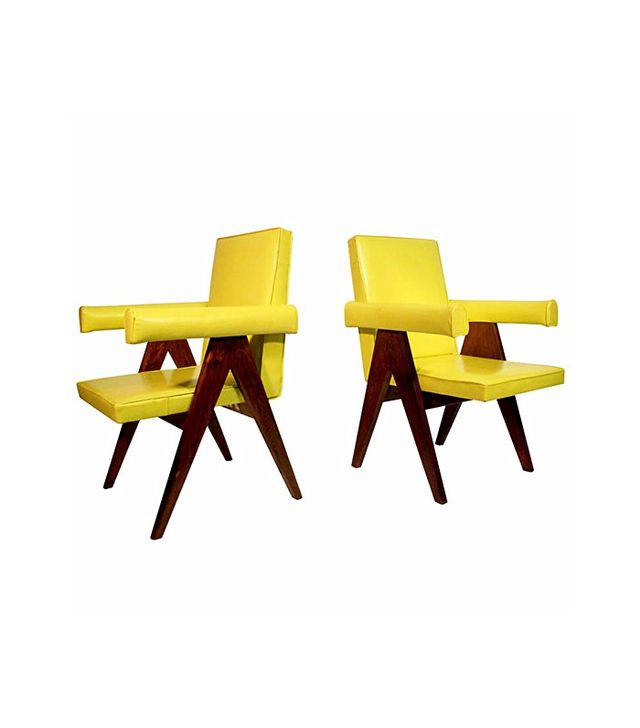 Pierre Jeanneret Pair of Committee Chairs