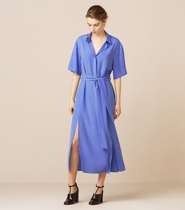 Finery Mayfield Split Front Dress