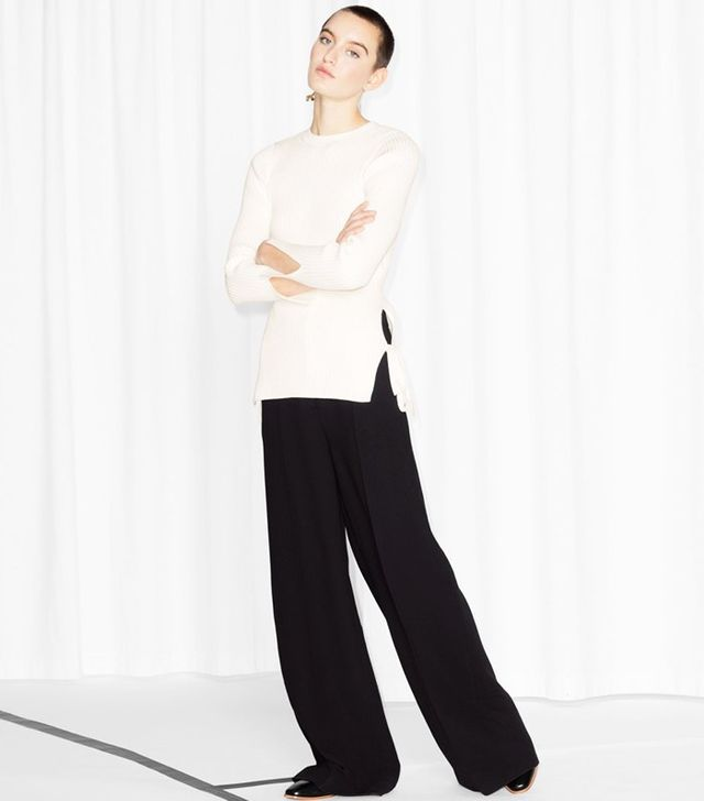 & Other Stories Wide Leg Trousers