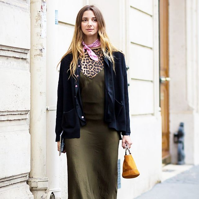 How to Wear One Simple Slip Dress 6 Different Ways
