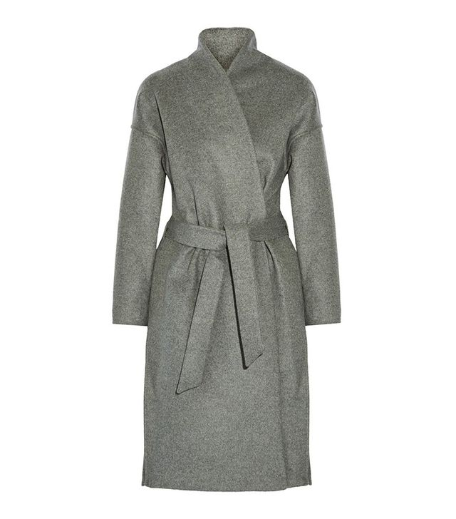 Totême Chelsea Belted Wool-Blend Felt Coat