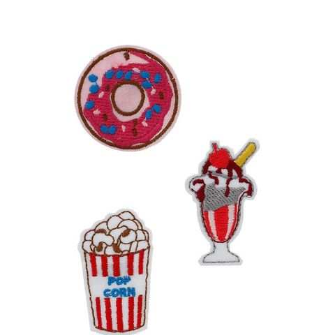 Donut and Sundae Fabric Brooch Pack
