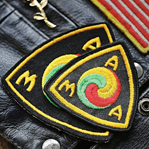 Vintage Motorcycle Patch