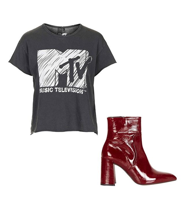 And Finally MTV Print Tee