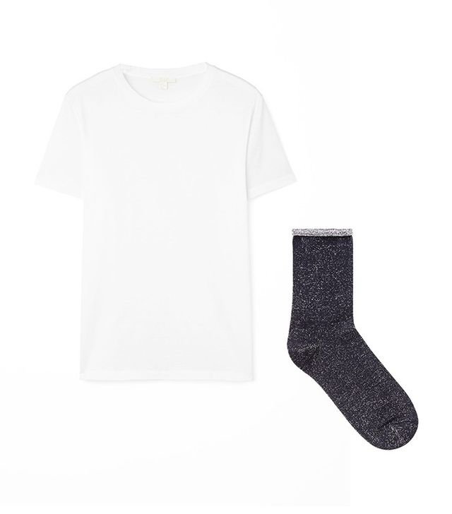 COS Neat Fit Cotton T-Shirt