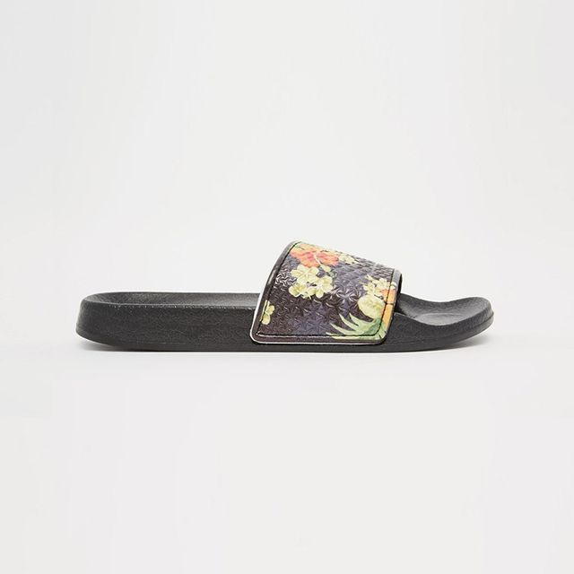 Slydes Tropical Flat Sandals