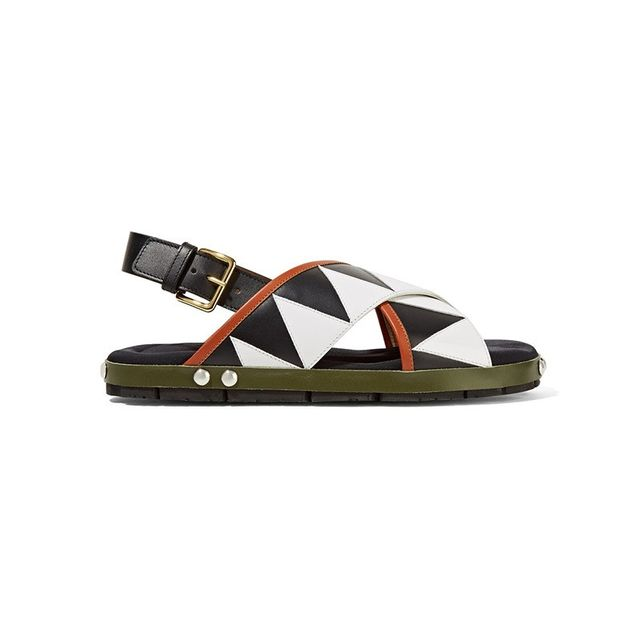 Marni Appliquéd Sandals