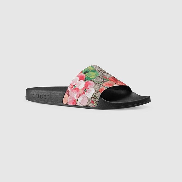 Gucci GG Blooms Slides