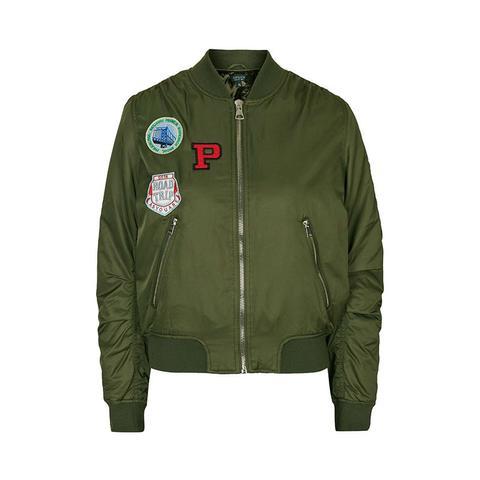 Badged M1 Bomber Jacket