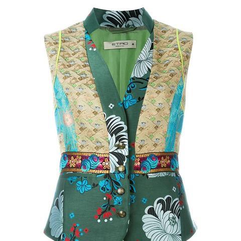 Mix Pattern Waistcoat
