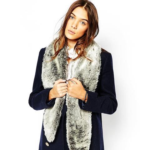 Romanby Long Faux Fur Stole