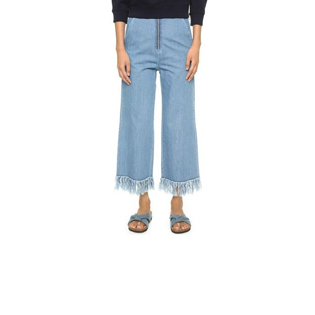 Vale Run Free Frayed Trousers