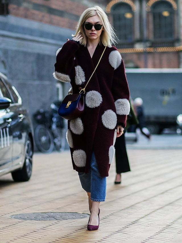 Cosy Coat + Bare Ankles