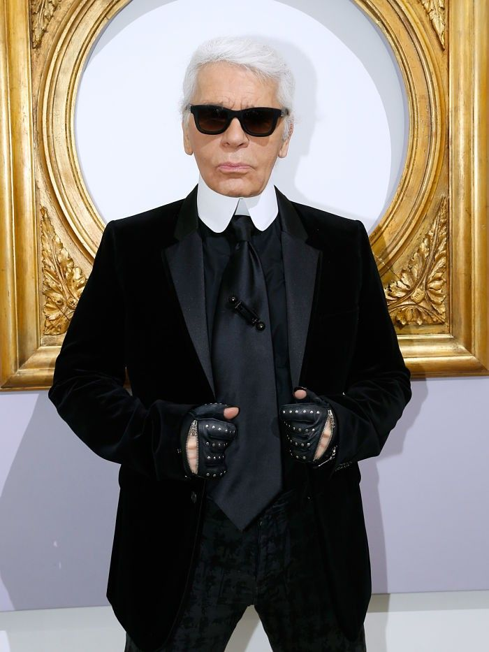 80s Karl Lagerfeld Was Quite A Looker Who What Wear