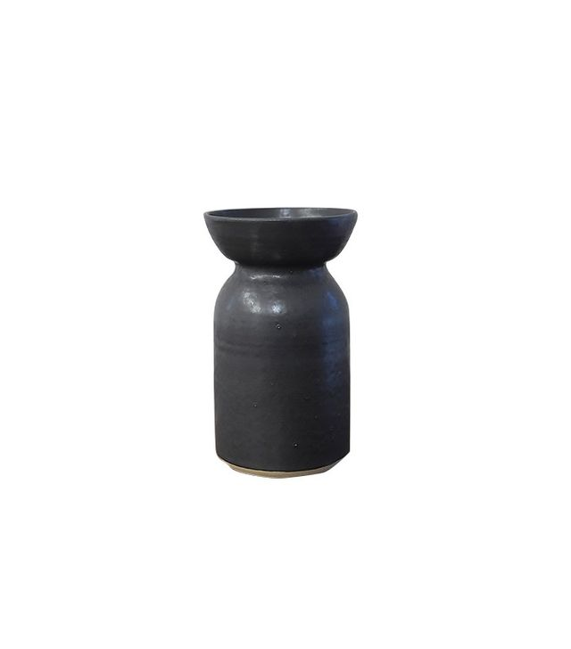 Victoria Morris Charcoal Wide Mouth Vase