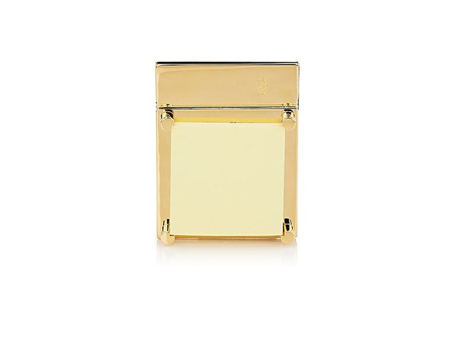 El Casco 23k Gold-Plated Post-It Note Holder