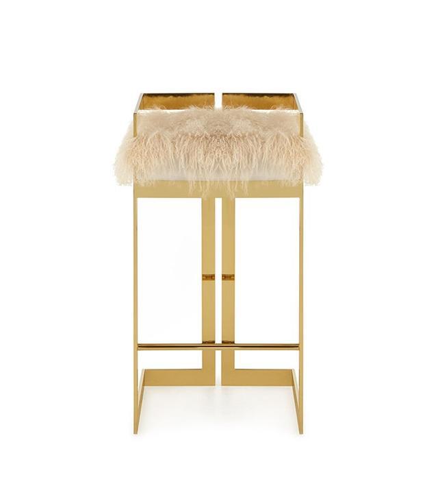 Neiman Marcus Imperial Sheepskin Barstool