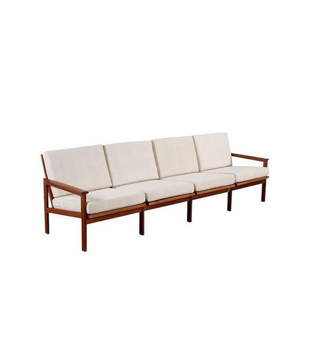 Illum Wikkelso for N. Eilersen Restored Vintage Illum Wikkelso Adjustable Sofa