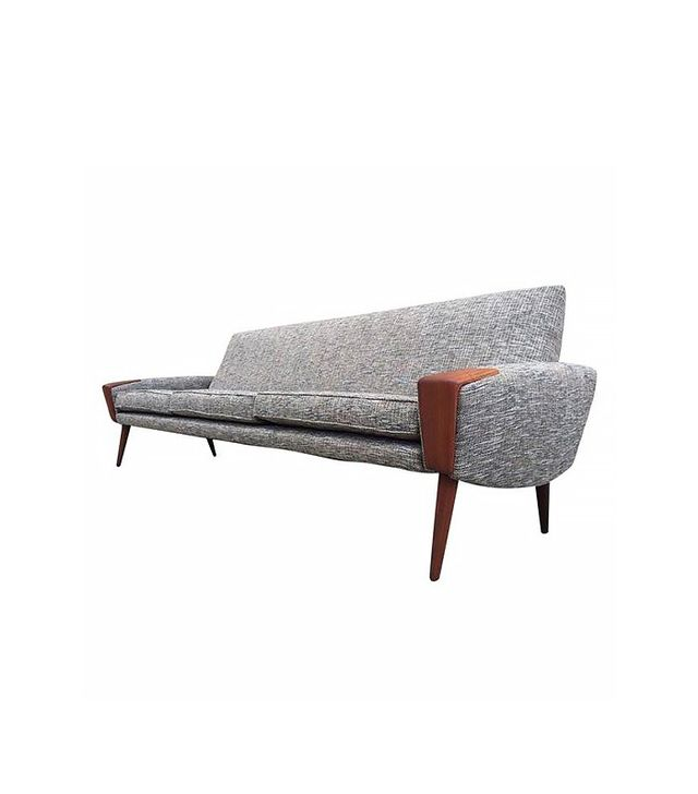Bramim Mobler Danish Modern Teak Sofa