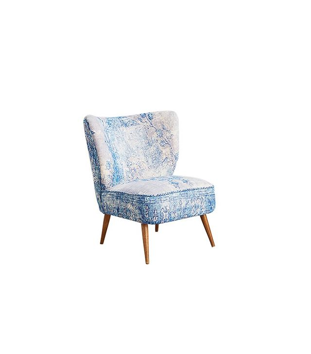 Anthropologie Dhurrie Occasional Chair