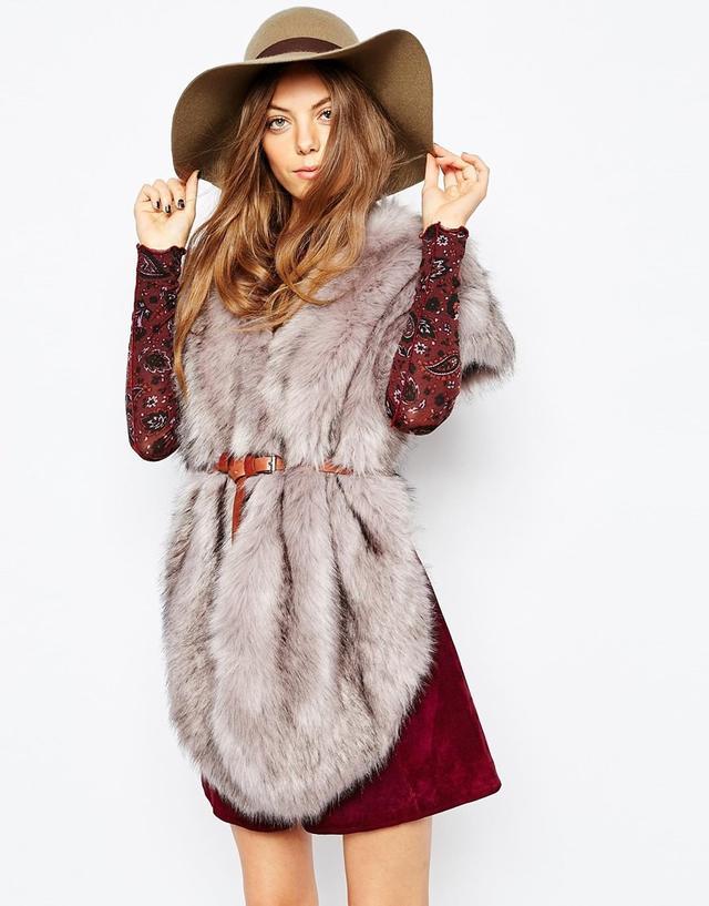 Jayley Oversized Faux Fur Scarf